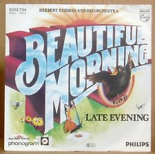 """7"""" Herbert Rehbein & his Orchestra  Beautiful Morning /Late Evening Philips 1978"""