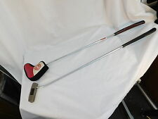 ODYSSEY DUEL FORCE LYNX HOLY ROLLER PUTTER GOLF CLUBS PRO ONLY GRIP ONE SOCK TWO