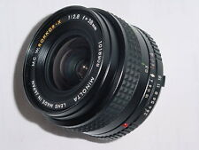 MINOLTA 28mm F/2.8 MC W.ROKKOR-X MANUAL FOCUS WIDE ANGLE LENS