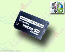Brand New Sealed Pack Micro SD Card to Memory Stick PRO DUO Adapter / Convertor