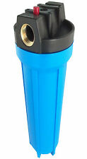 "20"" WATER FILTER HOUSING HOME AQUATIC HARD WATER WVO RO"