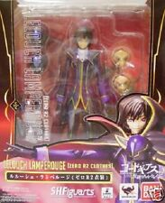 New Bandai S.H.Figuarts Code Geass Lelouch Lamperouge Zero R2 Costume Painted