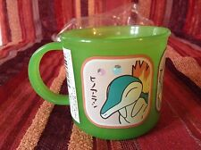 Pokemon plastic mug from Japan with Cyndaquil/Chikorita/Totodile - never used!