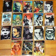 Breygent Classic Sci-fi & Horror Posters 2 Complete 18 x Card Metallogloss Set