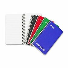 Mead Memo Book 5 x 3 Inches  60 Sheets Assorted (45534) Pack of 12