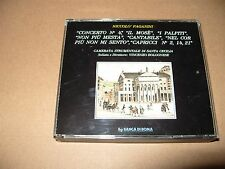 Niccolo Paganini Concerto No.4 IL Mose i Palpiti 2 cd Box Set Nr Mint Rare