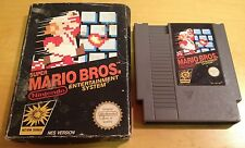 SUPER MARIO BROS for NINTENDO NES PAL BOXED