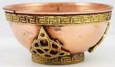 "3"" Copper Triquetra Offering Bowl, Censer, Cauldron!"