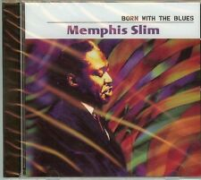 MEMPHIS SLIM - BORN WITH THE BLUES - CD - NEW - FAST FREE SHIPPING !!!