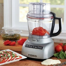 KitchenAid 13-Cup 3.1L Wide Mouth Food Processor Silver RR-KFP1330CU Big Large