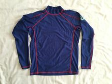 Active Skin Men's Long Sleeve Shirts Size Large Blue Color SS6