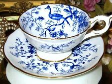 COBALT BLUE CAIRO * COALPORT TEA CUP AND SAUCER SET