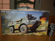 FRENCH - VAB 4X4 ARMORED TRANSPORT OF TROOPS, Plastic Model Kit, SCALE 1/35