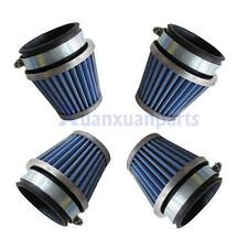 4 x 54mm Air Filter Pod For Honda CB750 CB900 Kawasaki KZ1000 Suzuki GS1100 New