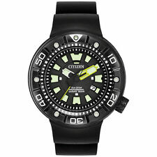 New Citizen BN0175-19E Men's Promaster Diver Quartz Stainless Steel Diving Watch