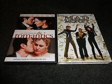 THE ROMANTICS & MAD MONEY- 2 movies-KATIE HOLMES,DIANE KEATON on crime spree