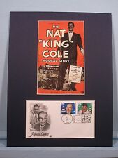 Honoring Nat King Cole & the First day Cover of his own stamp