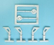 SAC 14414 Minicraft 1/144 Boeing B-52 Stratofortress Landing Gear White Metal