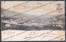 PIACENZA BOBBIO 15 Cartolina viaggiata 1901 Edizione MODIANO