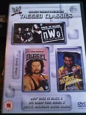 WWE Tagged Classic NWO / DIESEL / RAZOR RAMON WWF PAL UK 2 Disc Set