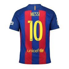 FC Barcelona Lionel Leo Messi 2016/17 nike home jersey