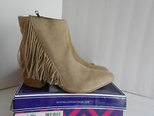 """Seychelles """"Good Advice"""" Womens Size 7.5 sand Apron Casual Booties"""