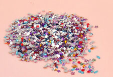 2000pcs Mixed Shape Nail Art Rhinestones Acrylic Decoration Flat back DIY Gems