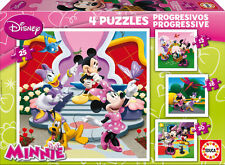 PUZZLE PROGRESIVO 12+16+20+25 MINNIE EDUCA 15134