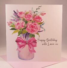 PRETTY, FLORAL Ladies, Wife, Mother, Grandmother, Aunt, Sister, Birthday Card