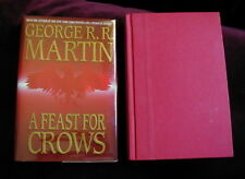 George RR Martin - A FEAST FOR CROWS - 1st US - BEAUTY !