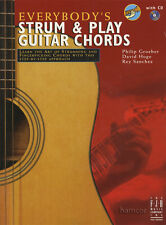 Everybody's Strum & Play Guitar Chords Music Book/CD Learn How to Play Method