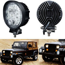 27W 12V 24V Spot Led Work Light Lamp Bar Boat Tractor Truck Off-road SUV