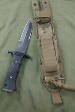 Gerber Silver Trident - Double Serration -- Tactical MULTICAM sheath154CM