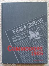1986 EAU GALLIE HIGH SCHOOL, YEAR BOOK. MELBOURNE, FLORIDA COMMODORE. UNMARKED!