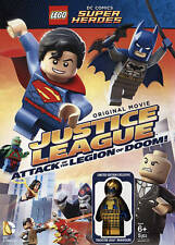 LEGO DC: Justice League - Attack of the Legion of Doom (DVD) New Sealed
