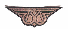 "Buckaroo Banzai Patch- BB Wings Logo 5.75"" Embroidered Patch - (FREE S&H US)"