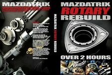 Rotary Engine Rebuild DVD By Mazdatrix / KMR - RX-7, 13B, FD3S, FC3S, Turbo,