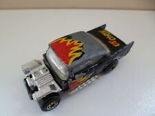 '57 Chevy Chevrolet - Matchbox - Lesney - 1979 - # 4 - Black - Macao
