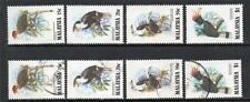 MALAYSIA MNH & USED 1983 SG280-283 HORNBILLS OF MALAYSIA SETS OF 4
