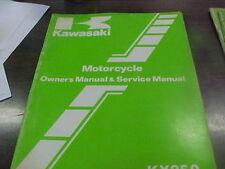 Vintage Kawasaki KX 250 B-1 Owner's & Service Manual