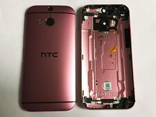 Genuine HTC One M8 PINK Housing Chassis Back Cover Camera Lens Antenna Grade B