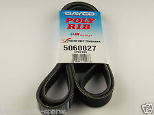 SSANGYONG MUSSO FAN BELT SUITS 2.9L 5CYL W/ eng. MB662 920,MB602. 07/96 TO 09/07