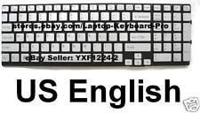 SONY VPCSE Keyboard - US English - Silver - 148986611 9Z.N6CBF.301