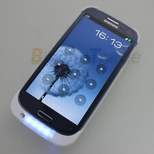 Rechargeable Backup Power Bank Battery Case for Samsung Galaxy S3 SIII i9300