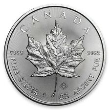 PRESALE - 2017 1 oz. Canadian Silver Maple Leaf GEM BU .9999