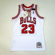 100% Authentic Michael Jordan Mitchell & Ness 91-92 The Shrug Bulls Jersey 40 M