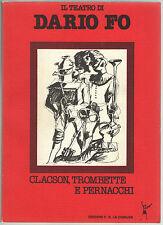 Dario Fo CLACSON TROMBETTE E PERNACCHI La Comune 1981 Soccorso Rosso Franca Rame