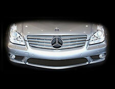 Mercedes CLS55 CLS63 CLS AMG Black Bumper Middle Mesh Grille Grill 2005-09