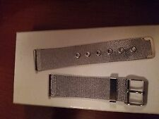 strap cinturino for per omega speed  20mm stainless  rimanenza  collezione