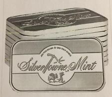 SPECIAL PRICE & FREE SHIPPING! SilverTowne MINT SIGNATURE 1 OZ. 999 FINE SILVER